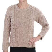 Peregrine by J.G. Glover Button Back Sweater - Merino Wool (For Women) in Dirty White - Closeouts