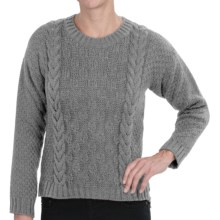 Peregrine by J.G. Glover Button Back Sweater - Merino Wool (For Women) in Granite - Closeouts