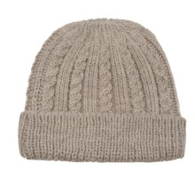 Peregrine by J.G. Glover Cable-Knit Hat - Merino Wool (For Women) in Beige - Closeouts