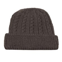 Peregrine by J.G. Glover Cable-Knit Hat - Merino Wool (For Women) in Mole Grey - Closeouts