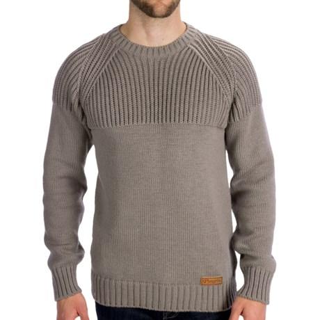Peregrine by J.G. Glover CCF Merino Wool Sweater (For Men) in Granite