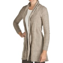Peregrine by J.G. Glover Clifton Cardigan Sweater - Merino Wool (For Women) in Beige - Closeouts