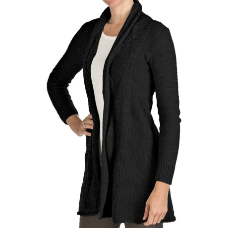 Peregrine by J.G. Glover Clifton Cardigan Sweater - Merino Wool (For Women) in Charcoal