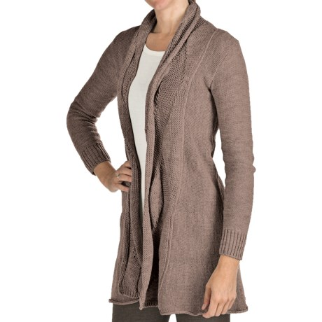 Peregrine by J.G. Glover Clifton Cardigan Sweater - Merino Wool (For Women) in Cheviot