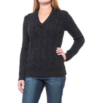 Peregrine by J.G. Glover Corden Sweater - Merino Wool (For Women) in Charcoal - Closeouts