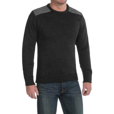 Peregrine by J.G. Glover Dave Sweater - Merino Wool, Crew Neck (For Men) in Charcoal - Closeouts