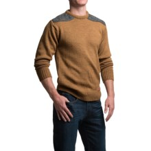 Peregrine by J.G. Glover Dave Sweater - Merino Wool, Crew Neck (For Men) in Wheat - Closeouts