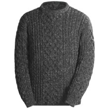 Peregrine by J.G. Glover English Wool Sweater (For Men) in Charcoal - Closeouts