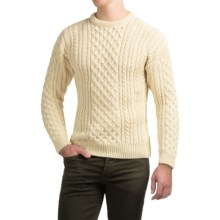 Peregrine by J.G. Glover English Wool Sweater (For Men) in Ecru - Closeouts
