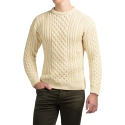 Peregrine by J.G. Glover English Wool Sweater (For Men) in Ecru