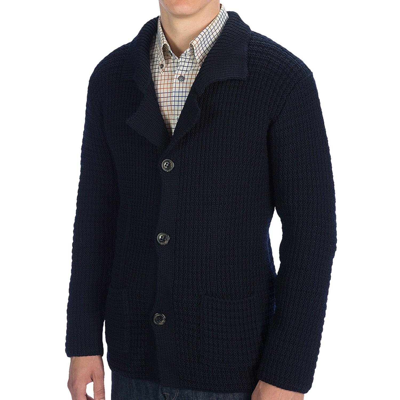 Knitted Wool Blazer