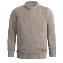 Peregrine by J.G. Glover Merino Wool Sweater - Crew Neck (For Men) in Beige - Closeouts