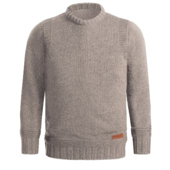 Peregrine by J.G. Glover Merino Wool Sweater - Crew Neck (For Men) in Beige