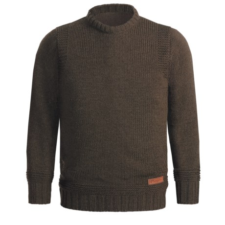 Peregrine by J.G. Glover Merino Wool Sweater - Crew Neck (For Men) in Seargent