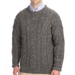 Peregrine by J.G. Glover Merino Wool Sweater (For Men) in Ecru