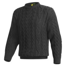 Peregrine by J.G. Glover Merino Wool Sweater (For Men) in Charcoal - Closeouts