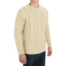 Peregrine by J.G. Glover Merino Wool Sweater (For Men) in Ecru - Closeouts