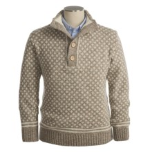Peregrine by J.G. Glover Merino Wool Sweater - Pullover (For Men) in Cobblestone - Closeouts