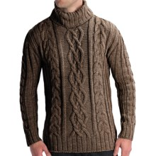 Peregrine by J.G. Glover Merino Wool Sweater - Turtleneck (For Men) in Seargent - Closeouts