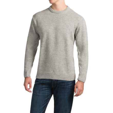 Peregrine by J.G. Glover Park Wool Sweater (For Men) in Light Grey - Closeouts