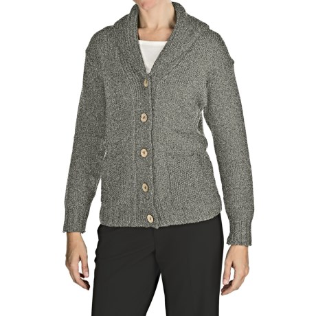 Peregrine by J.G. Glover Peruvian Merino Wool Cardigan Sweater (For Women)