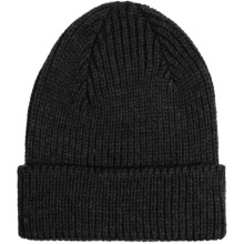 Peregrine by J.G. Glover Rib-Knit Beanie Hat - Merino Wool (For Men and Women) in Black - Closeouts