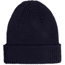 Peregrine by J.G. Glover Rib-Knit Beanie Hat - Merino Wool (For Men and Women) in Navy - Closeouts