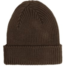 Peregrine by J.G. Glover Rib-Knit Beanie Hat - Merino Wool (For Men and Women) in Olive - Closeouts