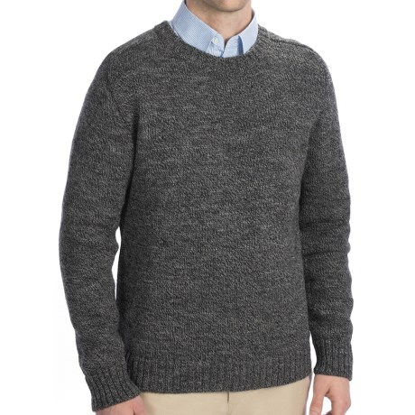 Peregrine by J.G. Glover Saddle Jumperwool Sweater (For Men) in Grey