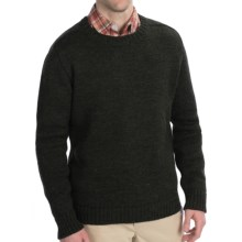 Peregrine by J.G. Glover Saddle Jumperwool Sweater (For Men) in Olive - Closeouts