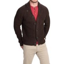 Peregrine by J.G. Glover Shawl Collar Cardigan Sweater - Merino Wool (For Men) in Walnut - Closeouts