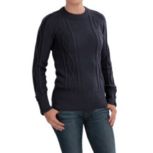 Peregrine by J.G. Glover Sweater - Peruvian Merino Wool (For Women) in Navy - Closeouts