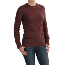 Peregrine by J.G. Glover Sweater - Peruvian Merino Wool (For Women) in Shiraz - Closeouts
