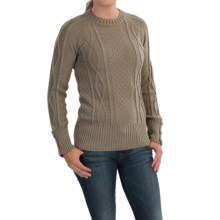 Peregrine by J.G. Glover Sweater - Peruvian Merino Wool (For Women) in Taupe - Closeouts