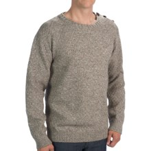Peregrine by J.G. Glover Textured Merino Wool Sweater (For Men) in Cobblestone - Closeouts