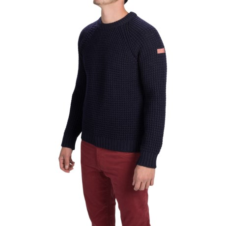 Peregrine by J.G. Glover Waffle Knit Sweater Merino Wool (For Men)