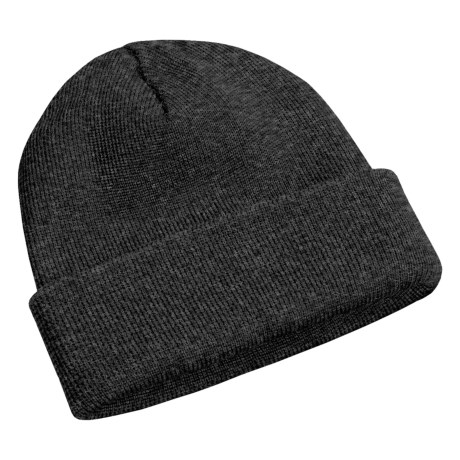 Peregrine by J.G. Glover Watch Cap - Merino Wool (For Men and Women) in Charcoal