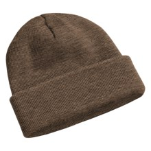 Peregrine by J.G. Glover Watch Cap - Merino Wool (For Men and Women) in Dark Brown - Closeouts