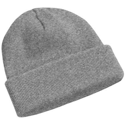 Peregrine by J.G. Glover Watch Cap - Merino Wool (For Men and Women) in Light Grey - Closeouts
