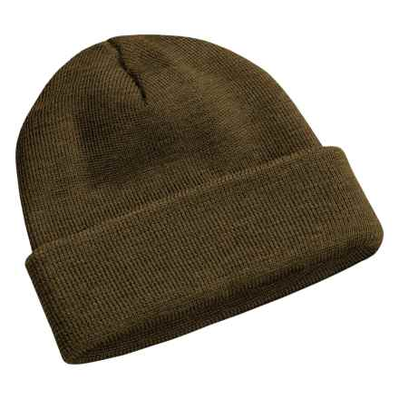 Peregrine by J.G. Glover Watch Cap - Merino Wool (For Men and Women) in Olive - Closeouts