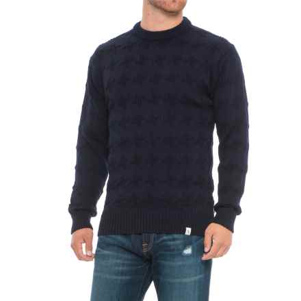 Peregrine Harrow Sweater - Merino Wool (For Men) in Navy - Closeouts