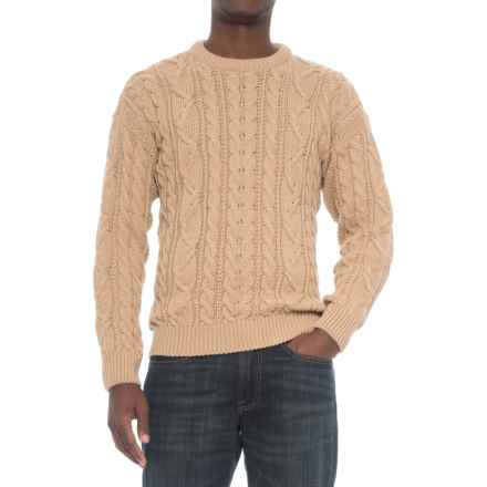 Peregrine Merino Wool Sweater (For Men) in Camel - Closeouts