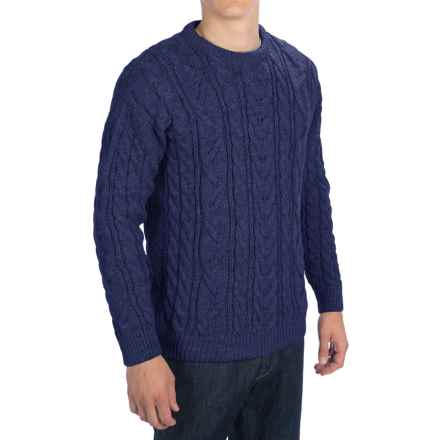 Peregrine Merino Wool Sweater (For Men) in Navy - Closeouts