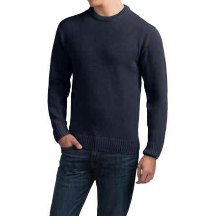 Peregrine Park Wool Sweater (For Men) in Navy - Closeouts