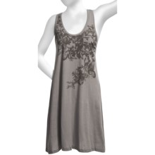 Perfection by Carole Hochman Jersey Nightshirt - Sleeveless (For Women) in Foliage Mineral Grey - Closeouts