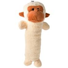 "Pet Lou Big Monkey Chew Toy - 20"" in White - Closeouts"