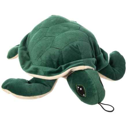 """Pet Lou Colossals Sea Turtle Dog Toy - 15"""" in Multi - Closeouts"""