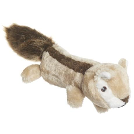 Pet Lou EZ Chipmunk Dog Toy - Squeaker in See Photo