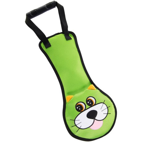 Pet Lou Tug-Me Cat Dog Toy - Squeaker in See Photo