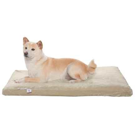 "Pet Therapeutics Orthopedic Comfort Dog Bed - 36x23"", Orthopedic Foam in Beige - Closeouts"